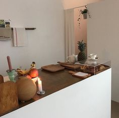 fresh home living kitchen pure interior Cafe Interior, Kitchen Interior, Interior Styling, Interior And Exterior, Art Deco Bar, Modern Interior Design, Interior Architecture, Aesthetic Rooms, Updated Kitchen