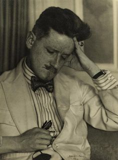 James Joyce by Berenice Abbot