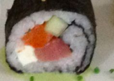 Sushi con Atún