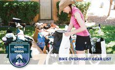 Gear Lists — Bike Overnights