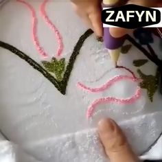 The Magic Embroidery Pen has been designed to make your work more efficient. In the process of embroidery, it will relieve your stress on work and life. And a beautiful piece of artwork can be done by magic embroidery needle pen. Hand Embroidery Videos, Hand Embroidery Stitches, Diy Embroidery, Embroidery Patterns, Embroidery Techniques, Embroidery Patches, Knitting Stitches, Sewing Hacks, Sewing Crafts