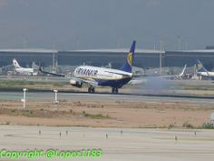 B737 de Ryanair, Barcelona