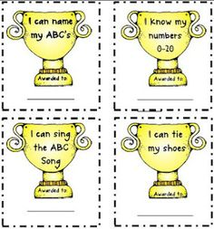 Kindergarten Awards {freebie}