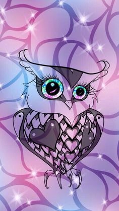 Cute Owl Girly By Rose Hispter Wallies Create Me