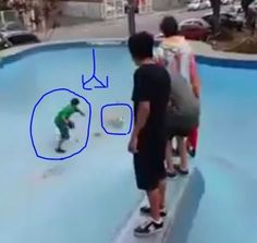 Punish Brazilian teen that repeatedly hits dog stuck in empty pool while friends spur him on! | YouSignAnimals.org