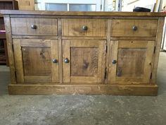 This Rustic Plank Sideboard looks great. Another piece ready to deliver!
