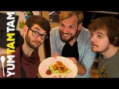 Chicken Nuggets // Kochen mit den SPACE FROGS // #yumtamtam - YouTube