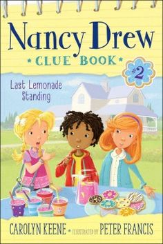 J SERIES NANCY DREW. A second entry in the interactive series finds Nancy, Bess and George opening a lemonade stand to raise funds to see a favorite singer's performance only to have their efforts challenged by the theft of their lemonade recipe.