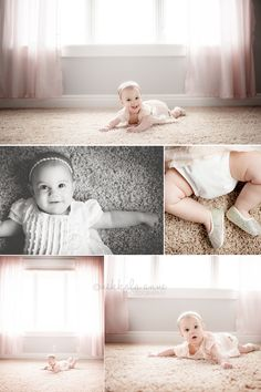 6 months | Smiles and Toes | Nikkala Anne Photography 6 month old girl photo session photography inspiration bedroom home lifestyle nursery