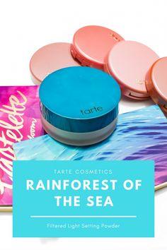 TARTE COSMETICS RAINFOREST OF THE SEA FILTERED LIGHT SETTING POWDER | Kate Loves Makeup