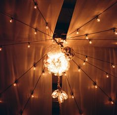 Stanley-Jacobs wedding. Mason jar chandelier. Photo by Maile Lani Fine Art Wedding Photography