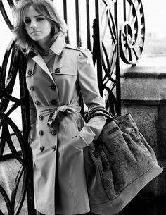 cd0b78158f18 Emma Watson for Burberry Kleiderschrank