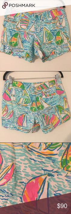 MAKE OFFER EUC 4 YGR callahans Lilly Pulitzer EUC no stains or tears. Cheaper 🅿🅿 shipping is only $3-$4 Lilly Pulitzer Shorts
