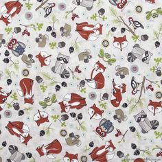 Critter All Around Fabric T-00485