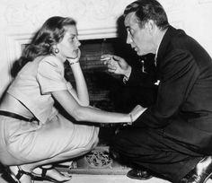 """""""I hope Bogie knew how much I loved him, how much he meant to me, how I highly valued him. I've had another life since then, but he was my first love, and you never forget your first love."""" - Lauren Bacall on Humphrey Bogart"""