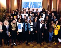 On January 28, 1985, Willie Nelson, Kenny Rogers and Waylon Jennings joined 43 other artists to record 'We Are The World' for the U.S.A. for Africa campaign.