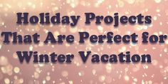 These holiday projects are good choices to increase the value of your home and possibly reduce your heating expenses. Read on for a few great ideas.