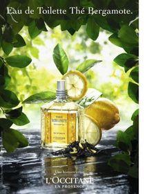 L'Occitane The Bergamote Perfume Ad
