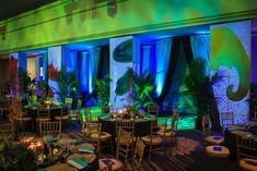 Held in Chicago on May 18, the Goodman Gala celebrated the theater's upcoming production of The Jungle Book. Kehoe Designs transformed the F... Photo: Ryan Sjostrom/Kehoe Designs