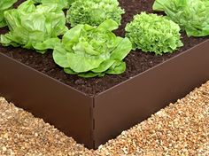 EverEdge EasyBed's hinged corners are held together with 10mm diameter pins which also help anchor the EasyBed into the ground.