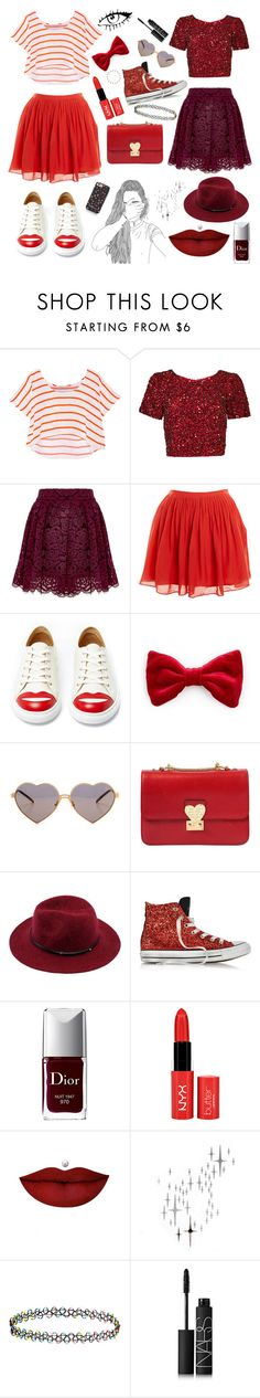 """Schic^^"" by nermina-kovacevic ❤ liked on Polyvore featuring mode, Rebecca Minkoff, Parker, Alice + Olivia, J.Crew, Charlotte Olympia, Wildfox, Valentino, Converse en Christian Dior"