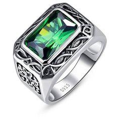 BONLAVIE Russian 6.8ct Nano Emerald Ring
