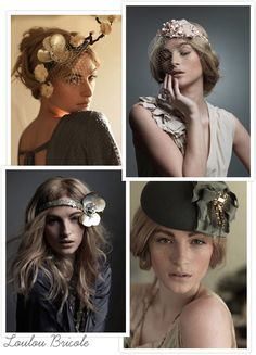 Stunning hair accessories from Irish designer Lou Lou Bricole