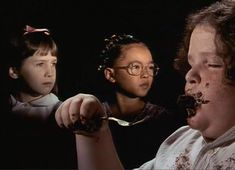 Matilda. I have always wanted to try a chocolate cake that looks as good as the one on the move!