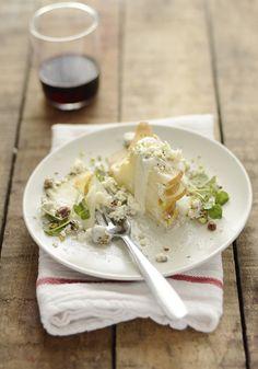 pear roquefort salad.