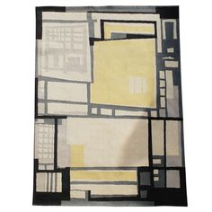 Gustav K. Beck, collectio viva 'Muster 2651' Anker Teppichböden, 1961 | From a unique collection of antique and modern western european rugs at https://www.1stdibs.com/furniture/rugs-carpets/western-european-rugs/