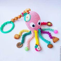 Crochet Baby Toys, Crochet Toys Patterns, Cute Crochet, Amigurumi Patterns, Stuffed Toys Patterns, Crochet Dolls, Baby Knitting, Crochet Eyes, Crochet Octopus