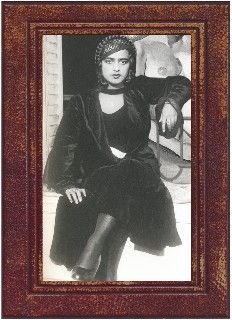 """Amrita Sher-Gil. Born in Budapest in 1913, she was the daughter of a Sikh aristocrat father and an upper-class Hungarian mother. Trained in the finest schools of art in Europe, Amrita returned to India to proclaim: """"Europe belongs to Picasso, Matisse, Braque and many others.....India belongs only to me""""."""