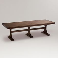 Monroe Dining Table | World Market    This would be great for holiday dinners!