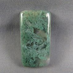 Moss Agate Cabochon Green Moss rock cabochon by azbluerockers