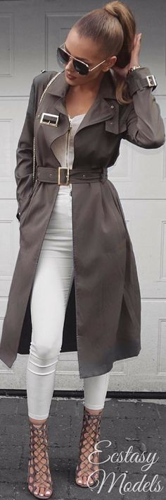 Fall Trench // Fashion Look by Sharline Davidsen
