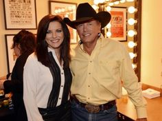 George Strait announced farewell tour.  Saw them in concert 2012 and 2013 at the MGM Garden Arena, Las Vegas