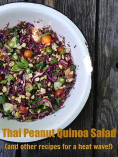 thai peanut quinoa s