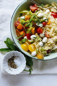 simple orzo salad