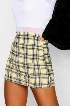 most favorite Check Mini Skirt Teen Fashion Outfits, Cute Fashion, Skirt Fashion, Fashion Ideas, Fashion Clothes, Womens Fashion, Fashion Tips, Fashion Trends, Cute Casual Outfits