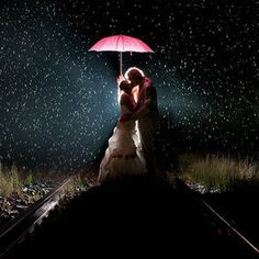 If I am so unlucky as to have rain on my wedding day, this picture will happen