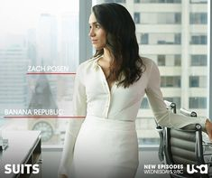 #Suitsfashion - every amazing Rachel Zane outfit. (Image via Suits USA)