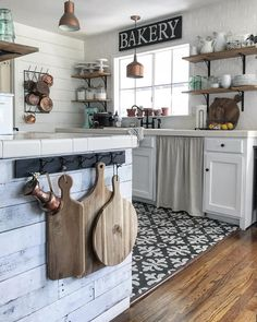 Mixing textures and patterns are my favorite. Oh, and cutting boards. I've never met a cutting board I didn't like. Ha! I like to collect…