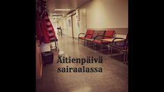 Äitienpäivä sairaalassa