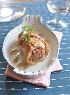 Recette de Gigotin de poulet à la vapeur de thym Mashed Potatoes, Ethnic Recipes, Food, Meat, Cooking Food, Drinks, Recipes, Whipped Potatoes, Smash Potatoes