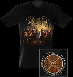 Arkona Decade Of Glory t-shirt