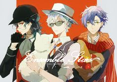 Ensemble stars | don't know who they are but they hot...
