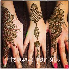 Henna design: