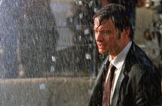 in the rain...Bridget Jones 2 - The Edge of Reason