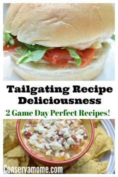 Check out some delicious Tailgating recipe deliciousness using Hellman's Tasty Mayonnaise. Game Day perfect Recipes for any event. #ad  #StrangewichTailgate #HellmannsTailgateDip