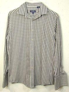 Hollister Mens Blue Striped 100% Cotton Long Sleeve Button Down ...